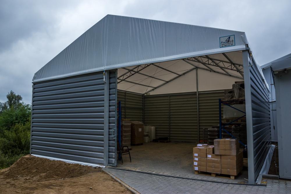 Hangar ve depo çadırı
