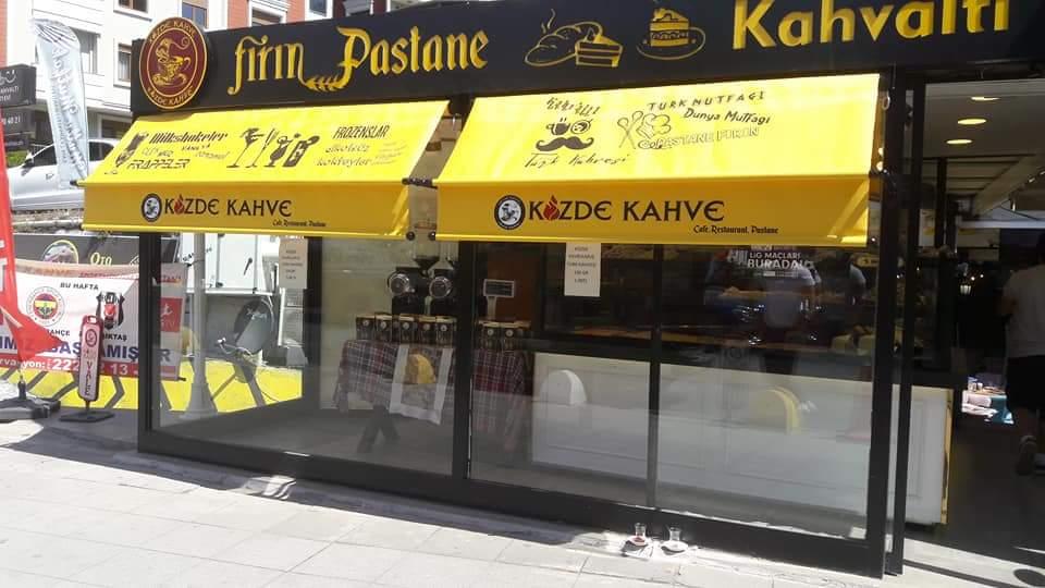 İstanbul Mafsallı Tente