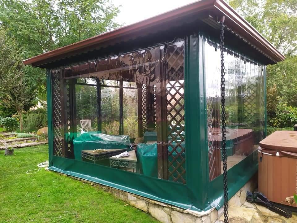 Şeffaf Kış Bahçesi